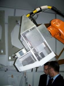 laser sur robot